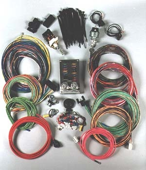 wiring harnesses chopper harness and custom wiring kit · chopper wiring kit · custom rod wiring kit